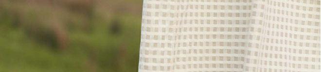 Cortinas con telas naturales como la lana