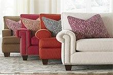 Diferentes tonos para tapizar sillones