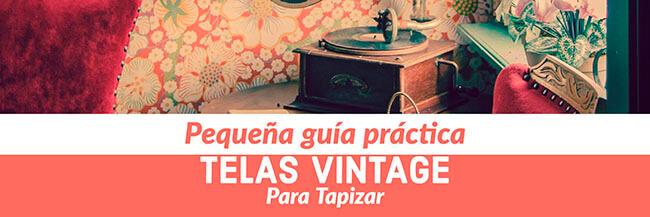 Telas Vintage para Tapizar