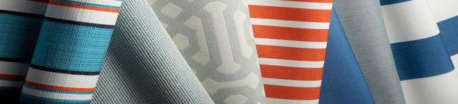 Telas para cortinas de exterior diferentes patrones