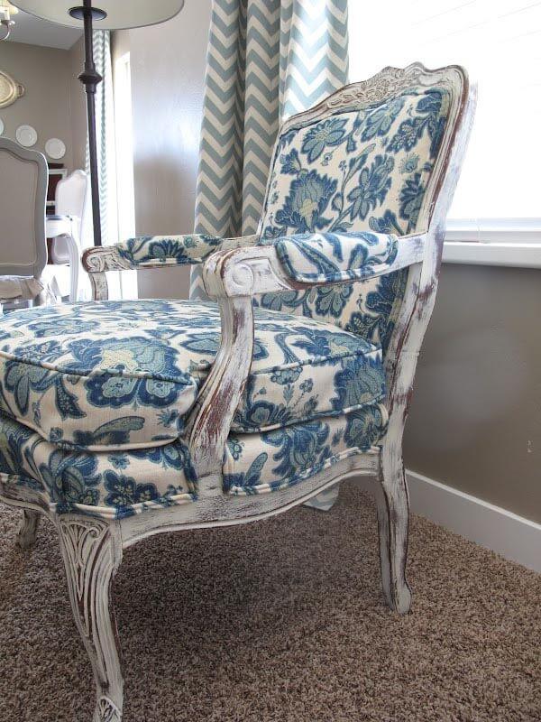 Telas para tapizar sillas de sal n ideas e inspiraci n for Sillas tapizadas estampadas