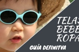telas para bebés y ropa